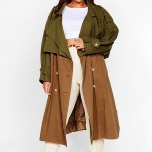 New nasty gal coat